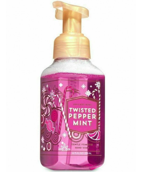BATH & BODY WORKS Мыло для рук 236 мл Twisted Peppermint