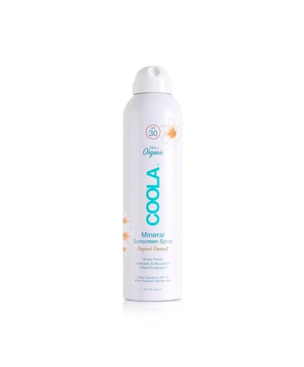 COOLA Suncare Tropical coconut Солнцезащитный спрей SPF50 236 мл