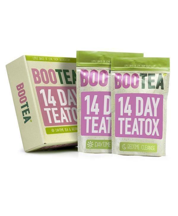 BOOTEA 18 Day Teatox Очищающая система на 7 ночей и 14 дней КОМПЛЕКС