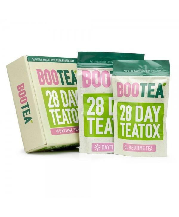 BOOTEA 28 Day Teatox Очищающая система на 14 ночей и 28 дней КОМПЛЕКС