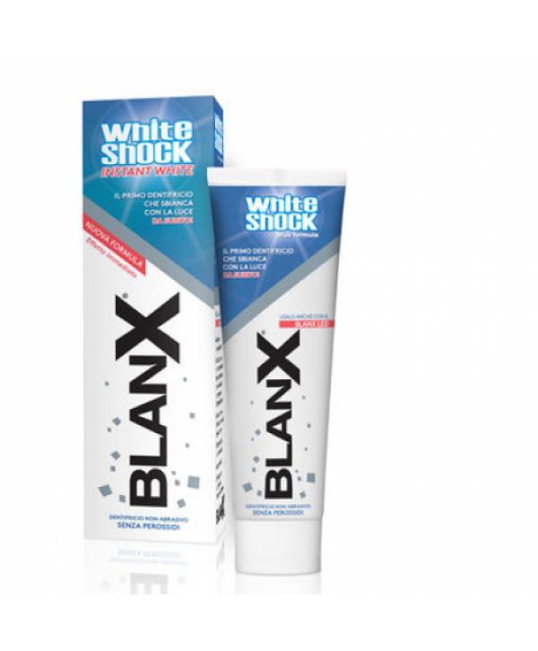 BlanX White Shock BLUE FORMULA зубная паста отбеливающая 75 мл