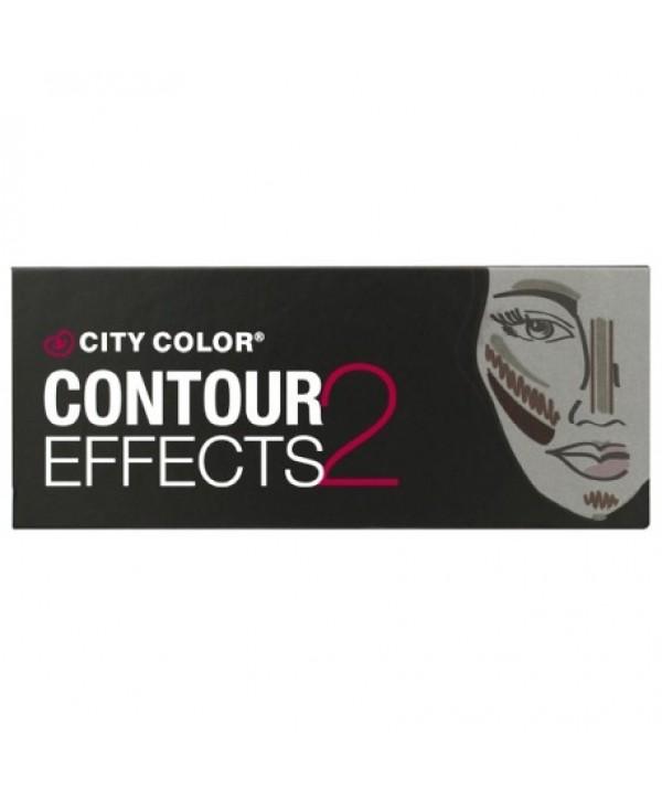 CITY COLOR Contour Effects 2 Palette Палетка для контурирования