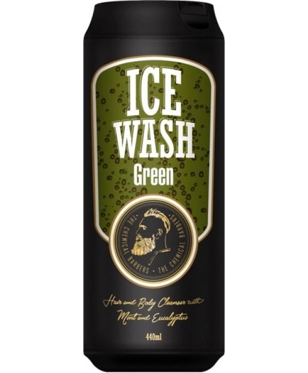 CHEMICAL BARBERS ICE WASH GREEN Освежающий гель для душа с мятой и эвкалиптом 440 мл