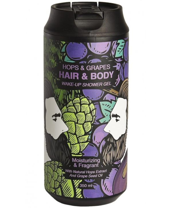 CHEMICAL BARBERS Wake-Up Hops&Grapes гель для тела и волос 350 Мл
