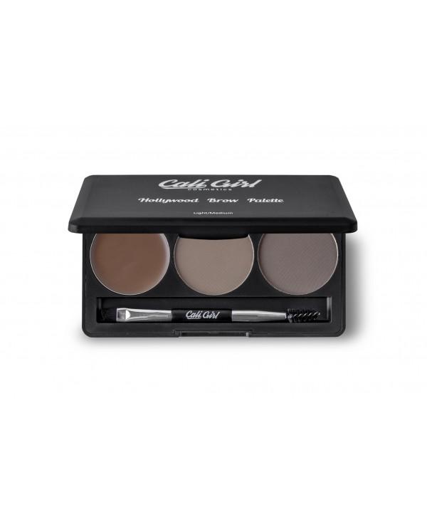 Cali Girl cosmetics Brow Pallete Medium\dark