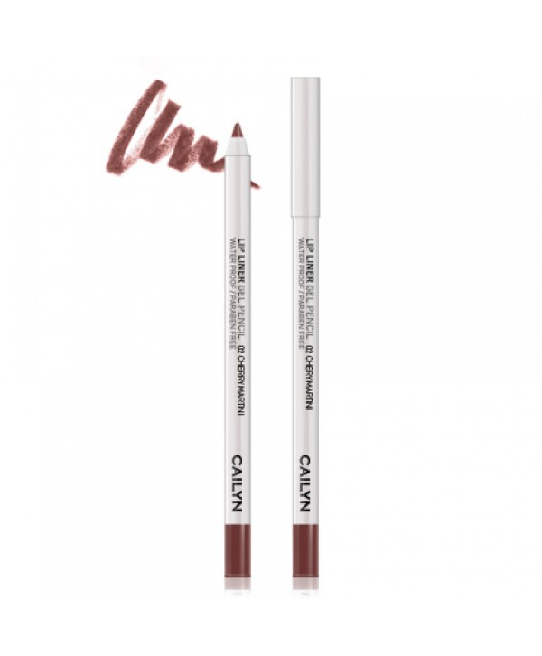CAILYN Lip Liner Gel Pencil 02 Cherry Martini Гелевый карандаш для губ
