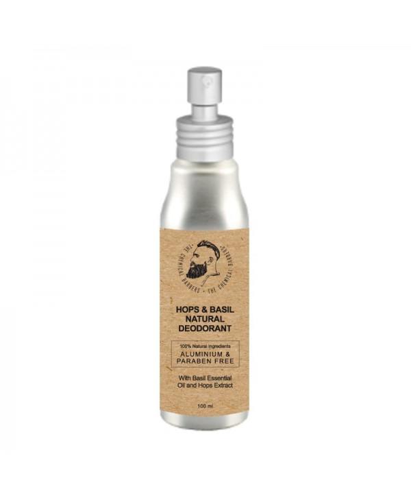 CHEMICAL BARBERS Natural Body Deodorant Hops&Basil 100 ml Дезодорант спрей