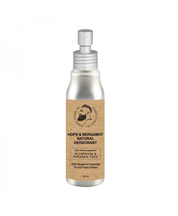 CHEMICAL BARBERS Natural Body Deodorant Hops&Bergamot 100 ml Дезодорант спрей