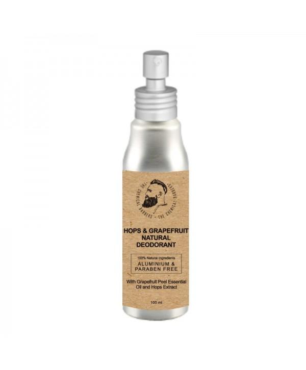 CHEMICAL BARBERS Natural Body Deodorant Hops&Grapefruit 100 ml Дезодорант спрей