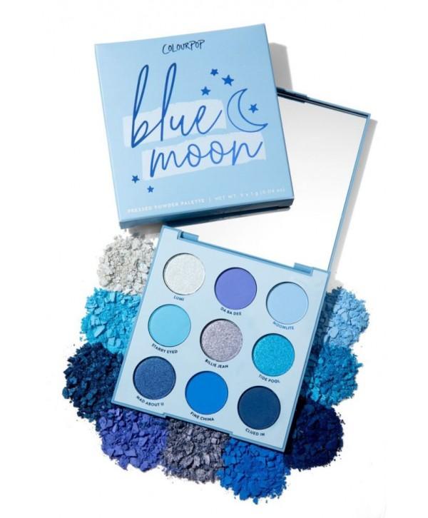 Colourpop Blue Moon Pressed Powder Palette