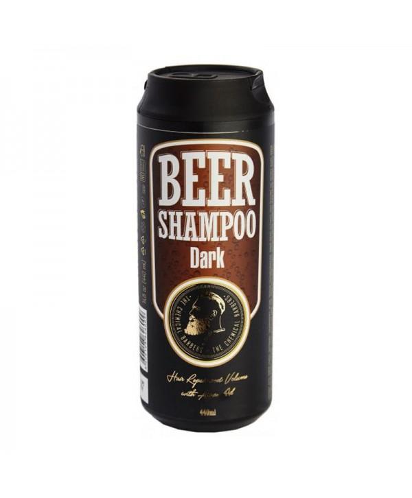 CHEMICAL BARBERS BEER SHAMPOO DARK Пивной шампунь с аргановым маслом 440 мл