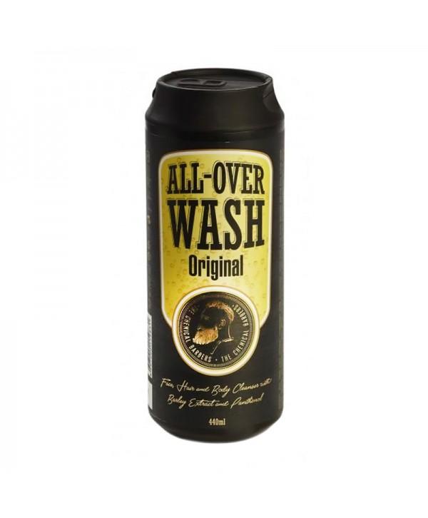 CHEMICAL BARBERS ALL OVER WASH Очищающее средство для лица, тела и волос 440 мл