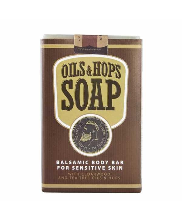 CHEMICAL BARBERS Бальзамическое мыло для тела с маслами и хмелем