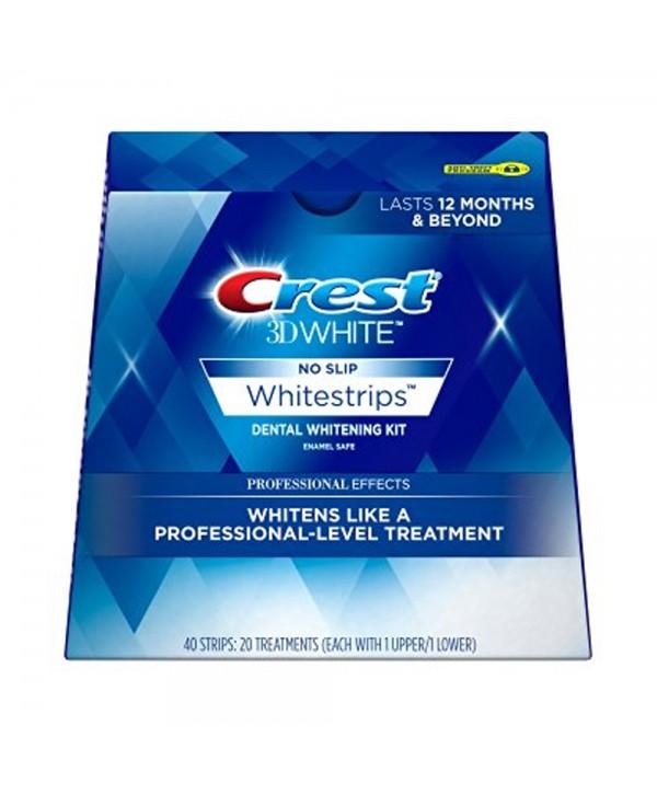 CREST 3D White Luxe Whitestrips Professional Effects Отбеливающие полоски для зубов