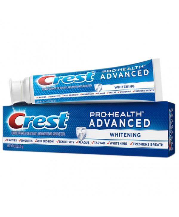 CREST 3D White Whitening Advanced Зубная паста отбеливающая 170 гр