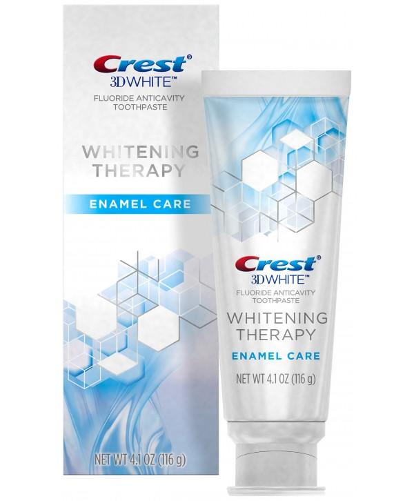 CREST 3D White Whitening Therapy Enamel Care Зубная паста отбеливающая 116 гр