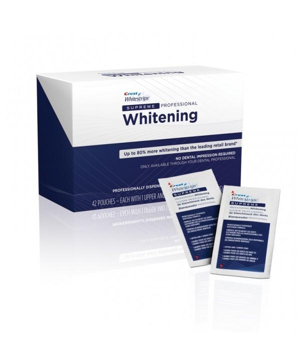 CREST Whitestrips Supreme Professional Strength Отбеливающие полоски для зубов