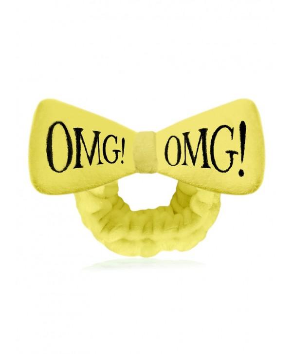 DOUBLE DARE OMG Бант Повязка косметическая для волос желтый