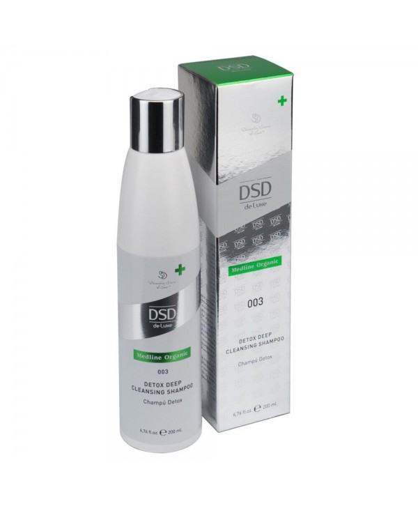 DSD DE LUXE 003 Detox Deep Cleansing Shampoo 200 ml Детокс-шампунь для глубокого очищения