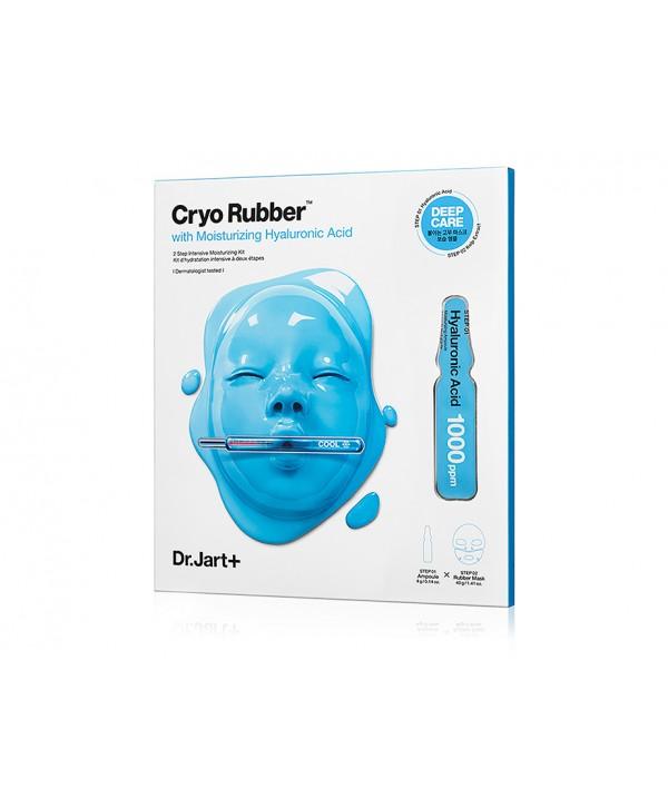 DR.JART Cryo Rubber Mask with Moisturizing Hyaluronic Acid Интенсивно увлажняющая маска (голубая)