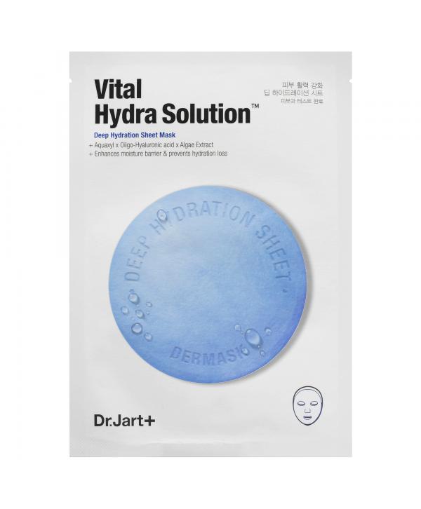 DR.JART Vital Hydra Solution Маска тканевая голубая