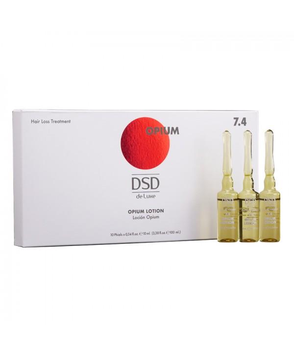 DSD DE LUXE 7.4 Опиум Лосьон для снижения выпадения волос и стимуляция их роста 10 г