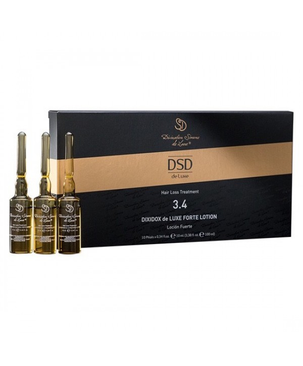 DSD DE LUXE 3.4 Лосьон от выпадения и стимуляции роста волос Simone de Luxe 10 мл