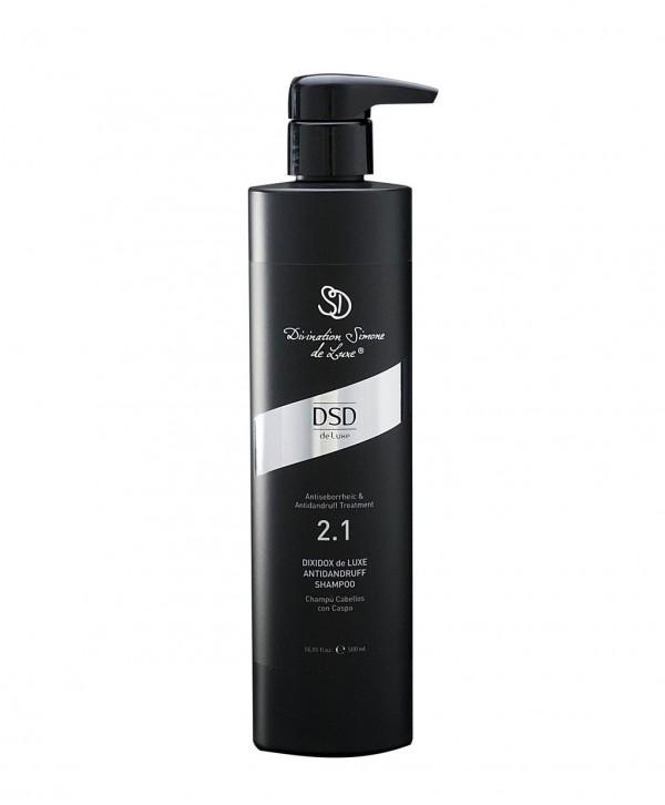 DSD DE LUXE 2.1 Antidandruff Shampoo 2.1 Шампунь от перхоти и себорейного дерматита 500 мл