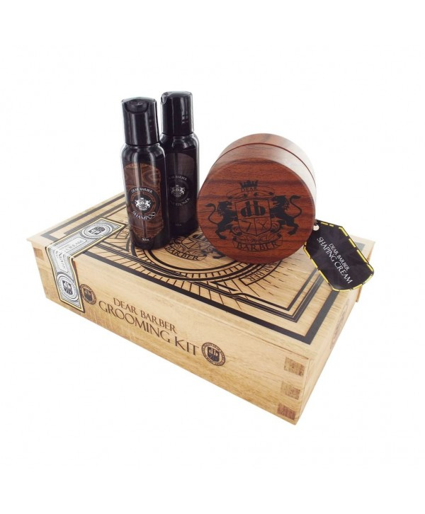 DEAR BARBER НАБОР Style & Go Collection Shaping Cream Туалетная вода, шампунь, крем форма для укладки