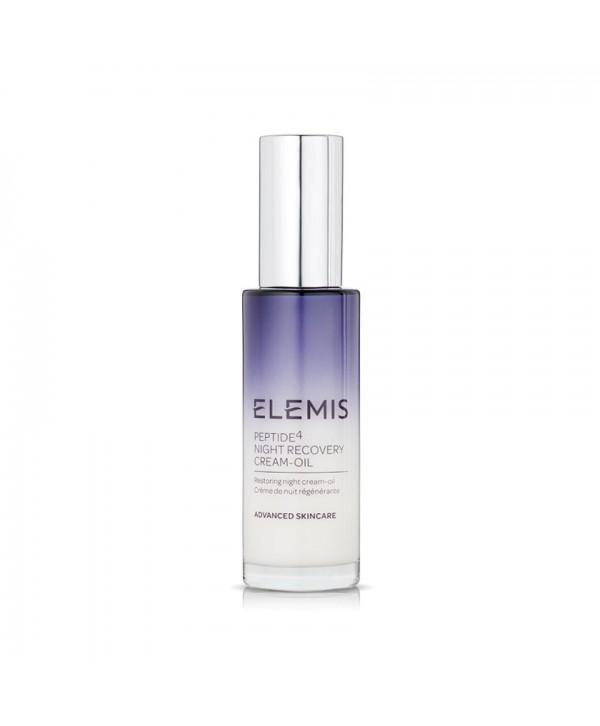 Elemis Peptide⁴ Night Recovery Cream-Oil 30ml