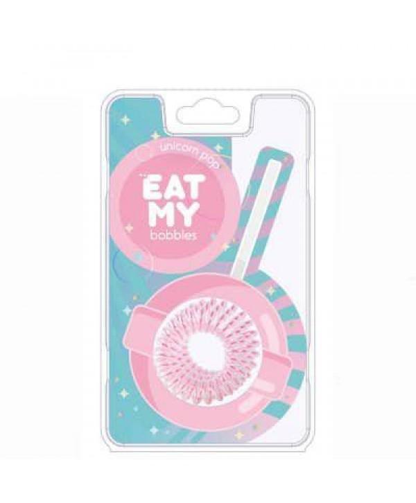 Резинки для волос EAT MY bobbles «Единорожный леденец», 3 шт.