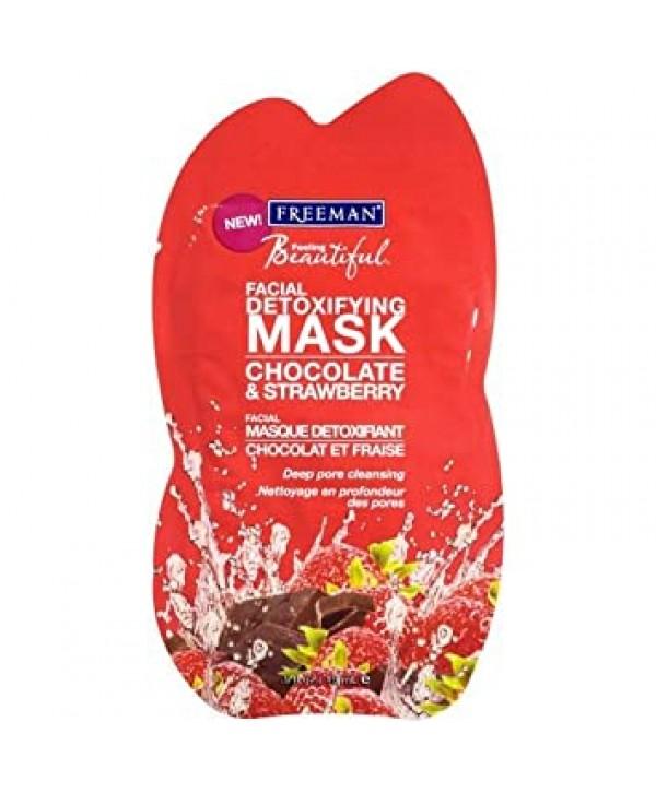 "FREEMAN Facial Clay Mask Chocolate & Strawberry Глиняная маска для лица ""Шоколад и клубника"" 15 гр"