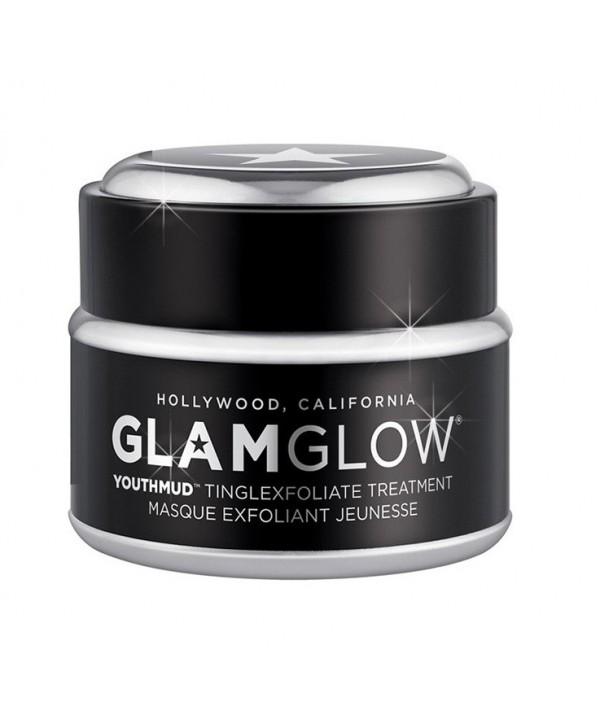 GLAMGLOW Youthmud Tinglexfoliate Treatment Masque Exfoliant Jeunesse в черной упаковке
