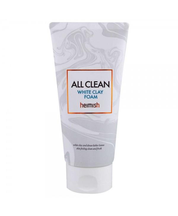 Heimish White Clean Foam Foam Пенка для умывания с белой глиной