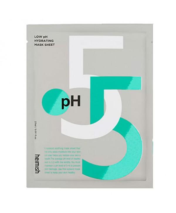 Heimish LOW pH Hydrating Mask тканевая