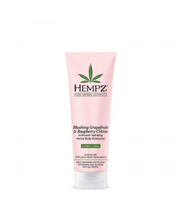 HEMPZ Blushing Grapefruit & Raspberry Creme In-Shower Hydrating Herbal Body Moisturizer 250 ml Конди