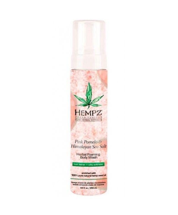 HEMPZ Pink Pomelo & Himalayan Sea Salt Herbal Foaming Body Wash 250 ml Гель-мусс для душа Помело и Г