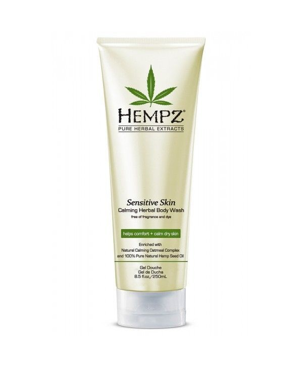 HEMPZ Sensetive Skin Calming Herbal Body Wash 250 ml Гель для душа Чувствительная Кожа