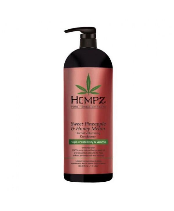 HEMPZ Sweet Pineapple & Honey Melon Conditioner 1000 ml Растительный кондиционер Ананас и Медовая Ды