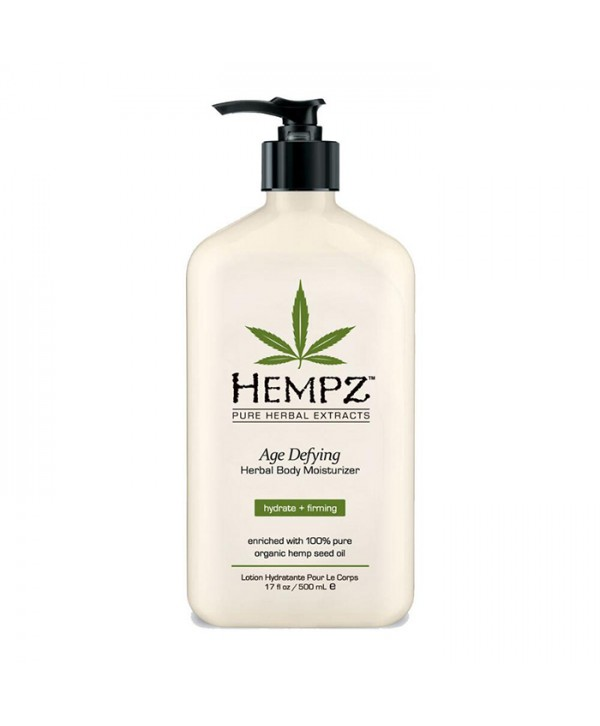 HEMPZ Age Defying Herbal Body Moisturizer 500 ml Молочко для тела увлажняющее антивозрастное