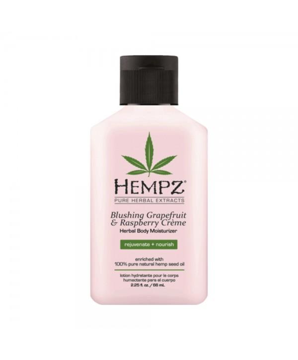 HEMPZ Blushing Grapefruit & Raspberry Creme Herbal Body Moisturizer 500 ml Молочко для тела Грейпфру