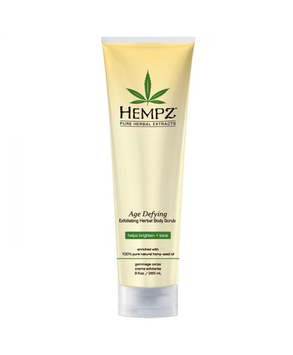 HEMPZ Age Defying Exfoliating Herbal Body Scrub 265 ml Скраб для тела Антивозрастной