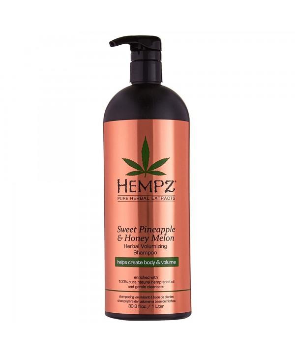 HEMPZ Sweet Pineapple & Honey Melon Shampoo 1000 ml Растительный шампунь Ананас и Медовая Дыня для п