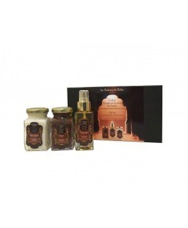 "La Sultane De Saba Gift Set Ayurvedic Amber Vanilla Patchouli Набор ""Аюрведа"""