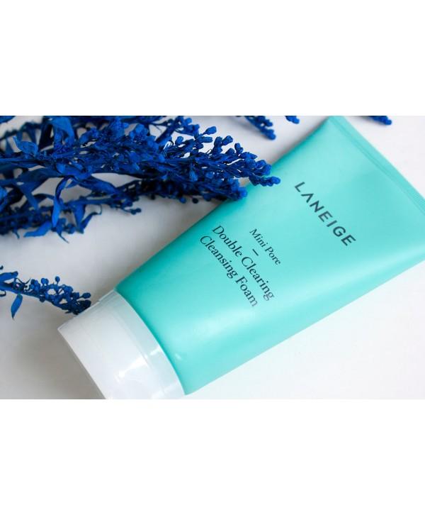 Laneige Mini Pore Double Clearing Очищающая Пенка 150ml
