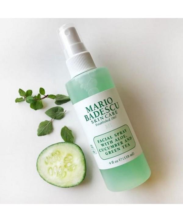 Mario badescu - Facial Spray with Aloe, Cucumber and Greentea 118 ml