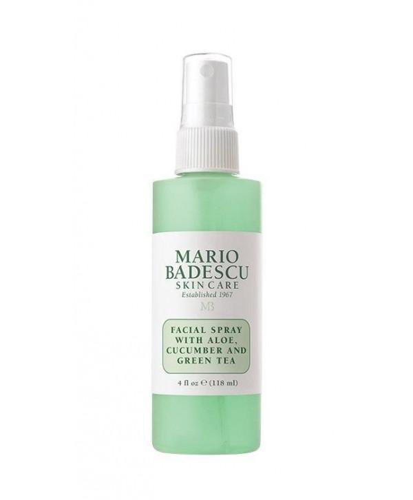 Mario Badescu Fasial Spray Aloe Cucumber Green Tea Спрей для Лица с Алоэ , огурец ml 118