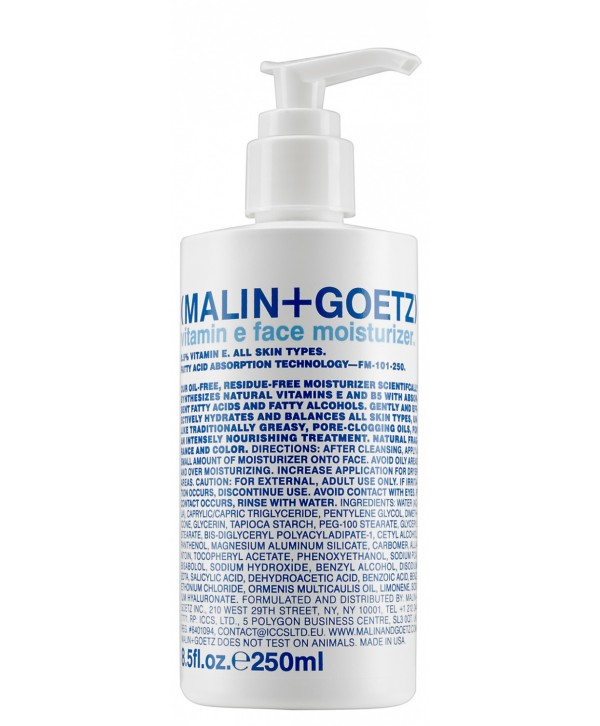 MALIN+GOETZ Vitamin E Shaving Cream 250 ml Крем для бритья с витамином Е