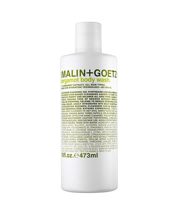 "MALIN+GOETZ Bergamot Body Wash 473 ml Гель для душа ""Бергамот"""