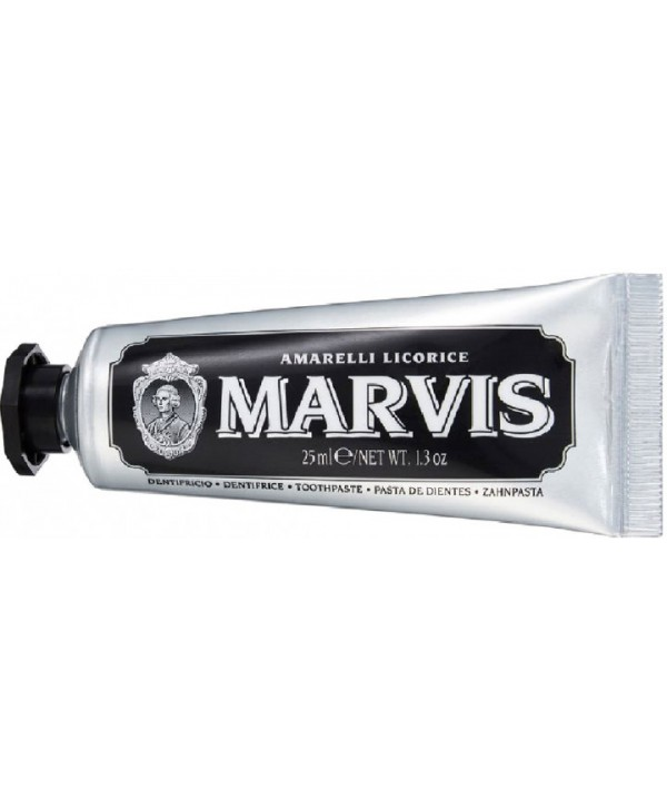 MARVIS Amarelli Licorice Toothpaste Зубная паста Лакрица Амарелли 85 мл (черная упак)
